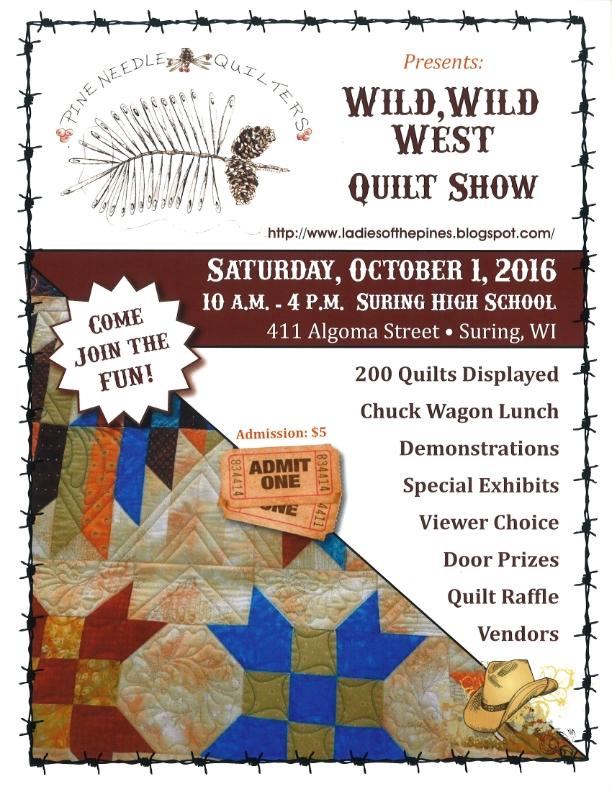 WILD, WILD WEST - Quilt Show