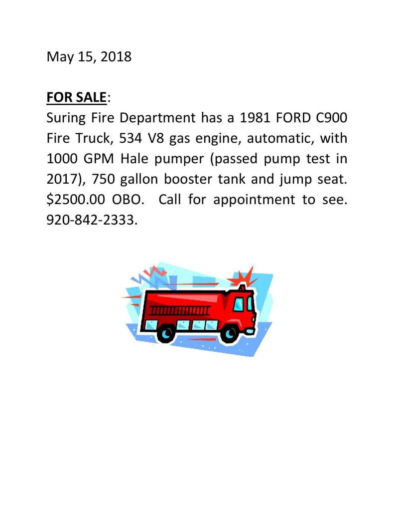 FIRE TRUCK AD